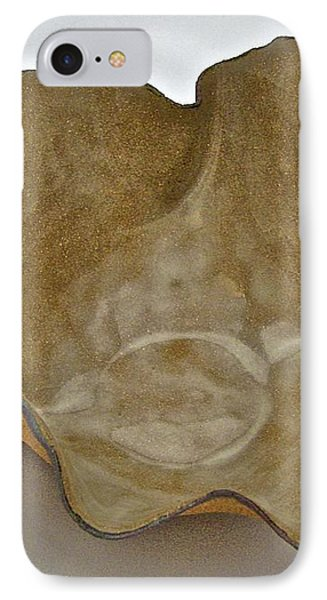 IPhone Case featuring the sculpture Paper-thin Bowl  09-010 by Mario Perron