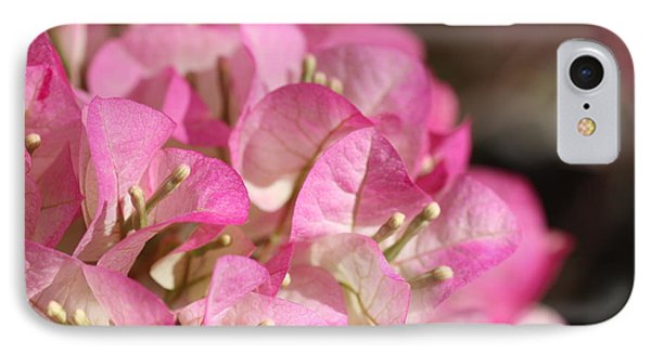 Papery In Pink IPhone Case by Cathy Dee Janes