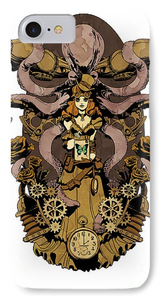 Papillon Mecaniques IPhone Case by Brian Kesinger