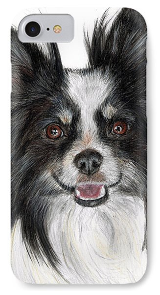 Papillon Painting Phone Case by Kate Sumners