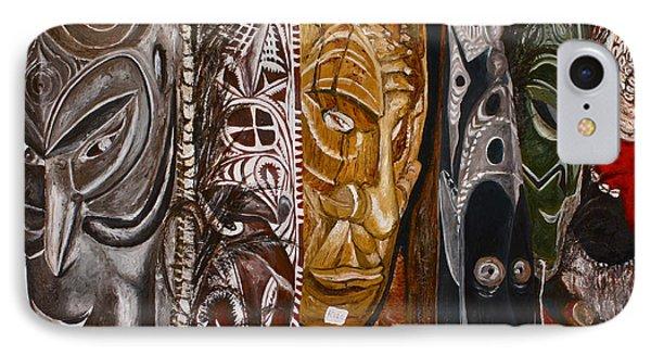 Papua New Guinea Masks IPhone Case
