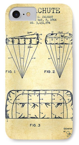 Parachute Design Patent From 1964 - Vintage IPhone Case