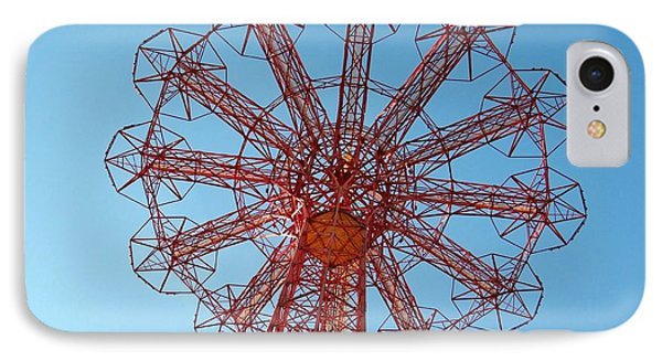 IPhone Case featuring the photograph Parachute Jump-coney Island by Ed Weidman