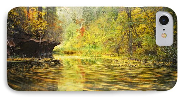 Parade Of Autumn IPhone Case by Peter Coskun