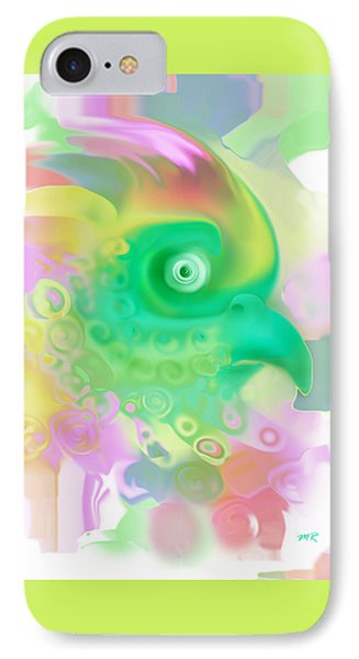 IPhone Case featuring the digital art Paradise Bird by Martina  Rathgens