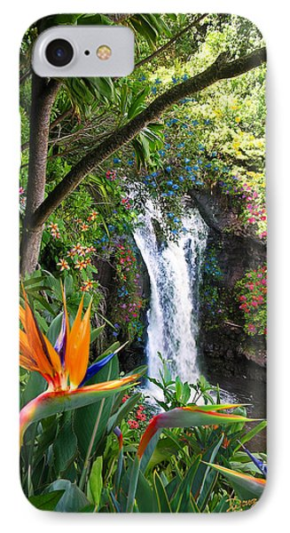 Paradise Falls IPhone Case by Doug Kreuger