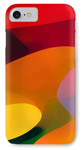 Paradise Found 1 Panel C IPhone Case by Amy Vangsgard