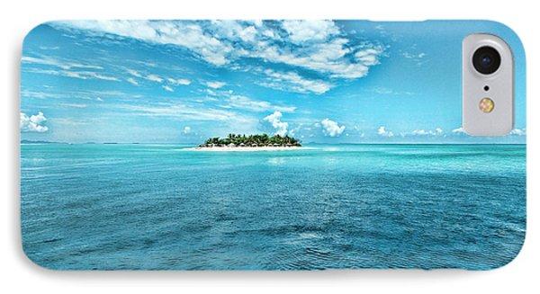 Paradise In Fiji IPhone Case by Karen Lewis
