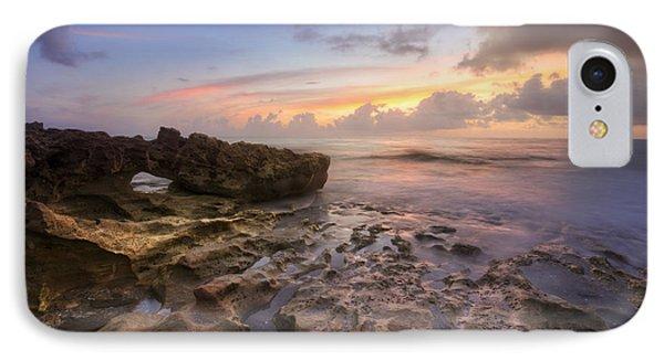 Paradise On Jupiter Phone Case by Debra and Dave Vanderlaan