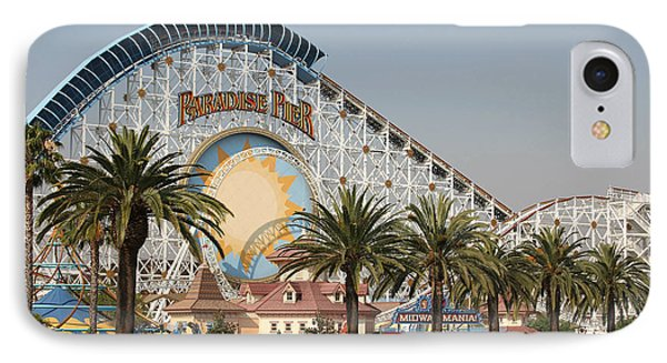 IPhone Case featuring the photograph Paradise Pier by Michael Albright