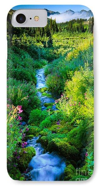 Paradise Stream IPhone Case by Inge Johnsson