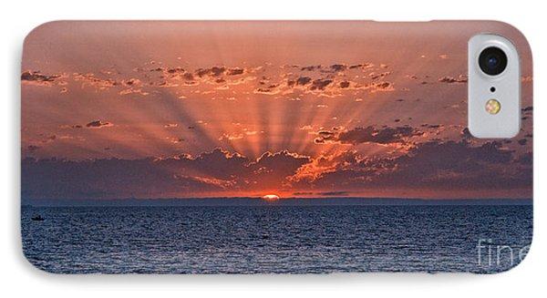 Paradise Sunset Phone Case by Alberto Agrusa
