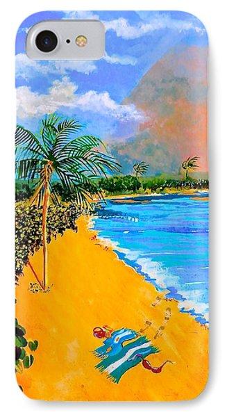 Paradise Phone Case by Susan Robinson
