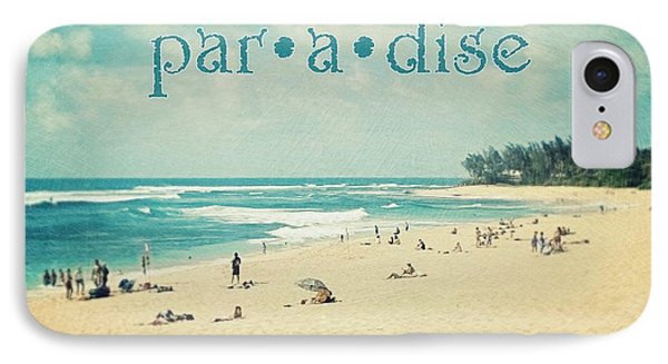 IPhone Case featuring the photograph Paradise by Sylvia Cook