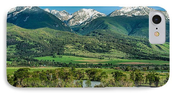 Paradise Valley IPhone Case by Joan Herwig