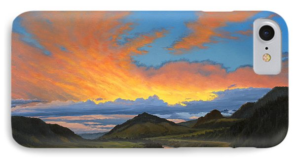 Paradise Valley Sunset  Phone Case by Paul Krapf