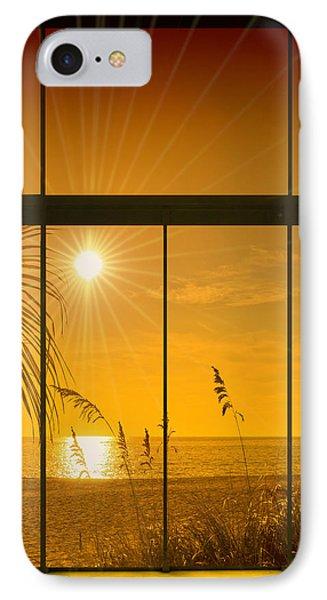 Paradise View II IPhone Case by Melanie Viola
