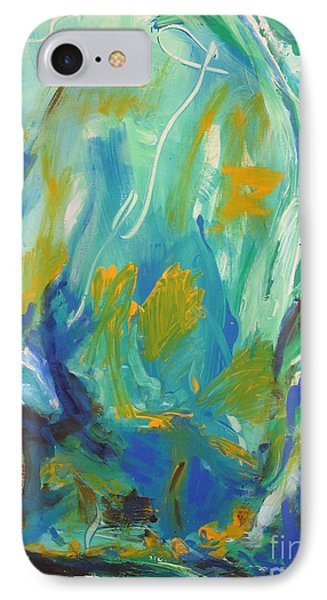 IPhone Case featuring the painting  Spring Time by Fereshteh Stoecklein