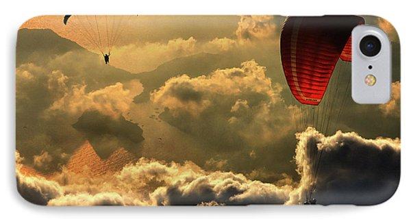Paragliding 2 IPhone Case
