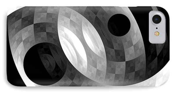 IPhone Case featuring the digital art Parallel Universes by Martina  Rathgens