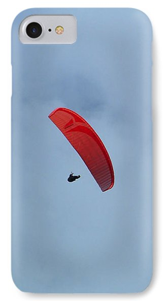 IPhone 7 Case featuring the photograph Parapente by Marc Philippe Joly