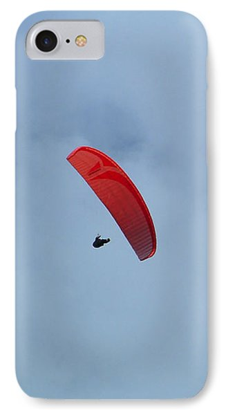 IPhone Case featuring the photograph Parapente by Marc Philippe Joly