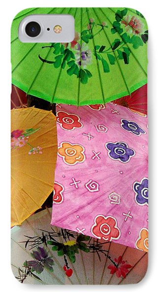 Parasols 2 IPhone Case by Rodney Lee Williams