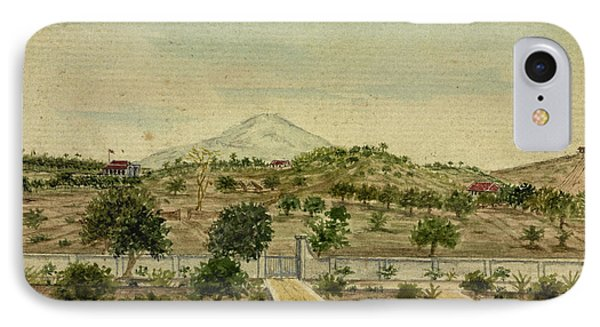 Parell House And The Signal Flagstaff IPhone Case by British Library