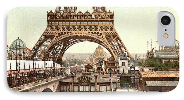 Paris 1889 World's Fair IPhone Case