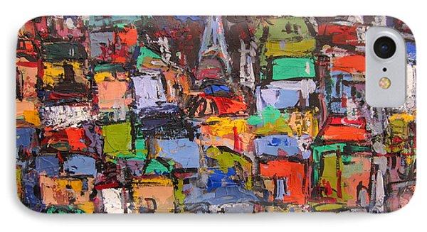 Paris At Night 03 IPhone Case