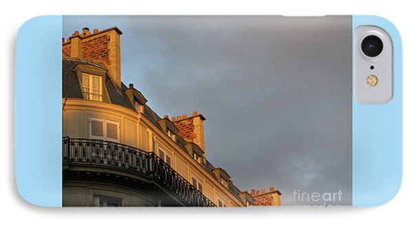 IPhone Case featuring the photograph Paris At Sunset by Ann Horn