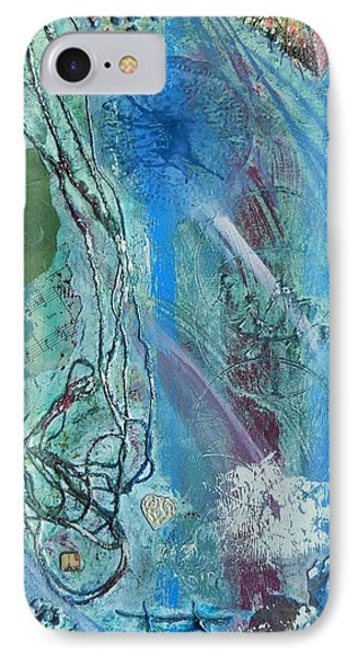 IPhone Case featuring the painting Paris by Betty-Anne McDonald