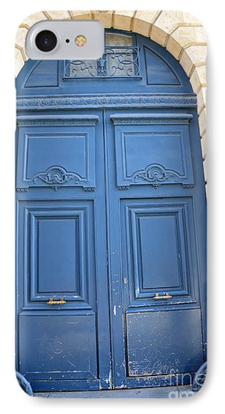 Paris Blue Doors No. 26 - Paris Romantic Blue Doors - Paris Dreamy Blue Doors - Parisian Blue Doors IPhone Case