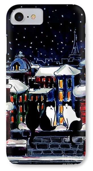 Paris Cats IPhone Case