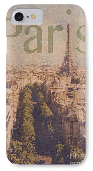Paris IPhone Case by Diane Diederich