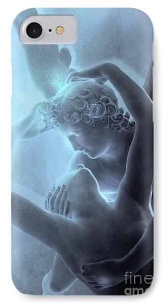 Paris Eros And Psyche - Louvre Sculpture - Paris Romantic Angel Art Photography IPhone 7 Case