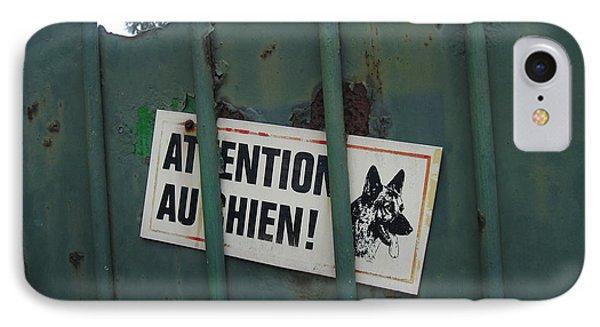 Paris - Farm Dog IPhone Case by HEVi FineArt