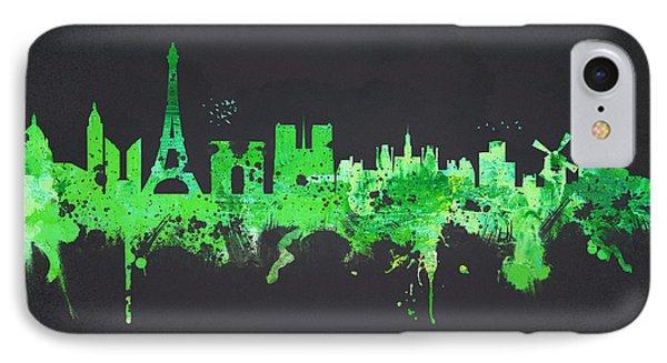 Paris France IPhone Case by Aged Pixel