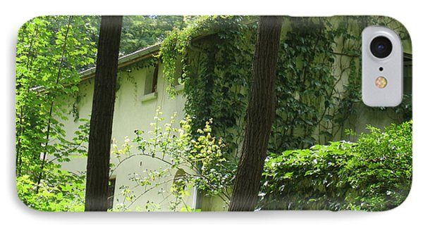 IPhone Case featuring the photograph Paris - Green House by HEVi FineArt