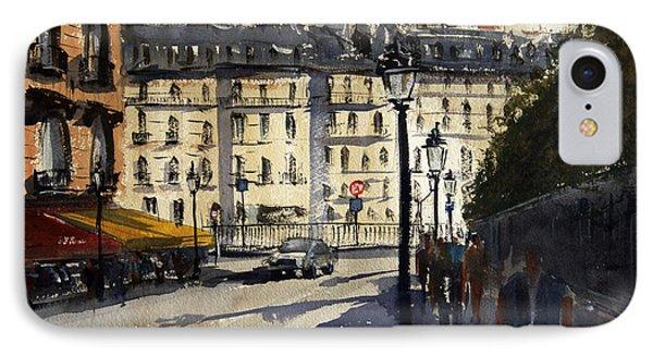 Paris IIi IPhone Case by James Nyika