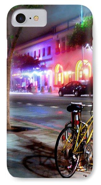 IPhone Case featuring the photograph Paris In Santa Monica by Jennie Breeze