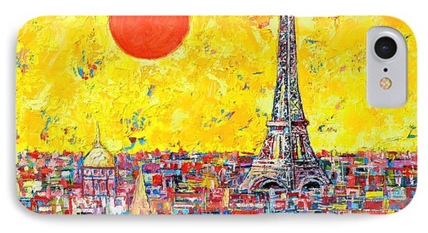 Paris In Sunlight IPhone Case by Ana Maria Edulescu