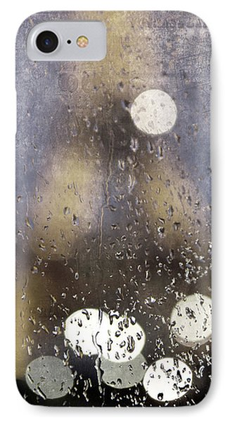 Paris In The Rain Phone Case by Evie Carrier