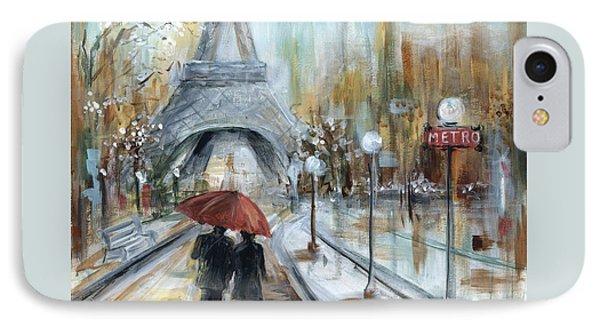 Paris Lovers I IPhone Case