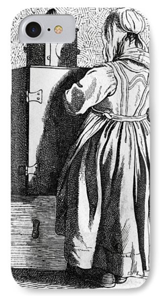 Paris Magic Lantern, C1740 IPhone Case by Granger