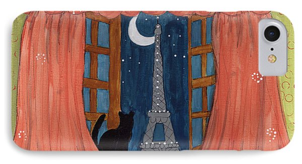 Paris Moonlight Phone Case by Lee Owenby