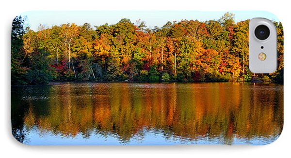 IPhone Case featuring the photograph Paris Mountain In Fall by Larry Bishop