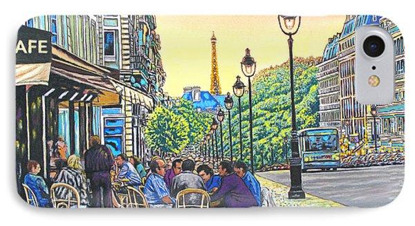Paris Nights Phone Case by David Linton