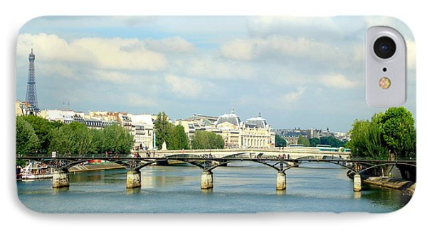 IPhone Case featuring the photograph Paris On The Seine by Kay Gilley