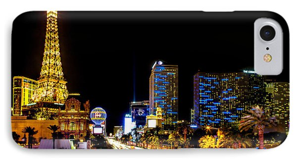 Welcome To Vegas IPhone Case by Az Jackson